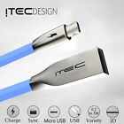 MICRO USB 2.0 ITEC ZINC DATA SYNC CHARGER CHARGING CABLE LEAD FOR SAMSUNG BLUE