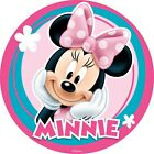 Minnie Or Mickey Mouse Edible Cake Topper Icing Image Round A4 or Cupcakes