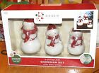 Order Home Collection 3-Piece LED Snowman Candle Set With Built In 4 Hour Timer