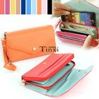 Hot Multifunction Women Clutch Bag Cell Phone Pockets Coins Case Casual TXCL01