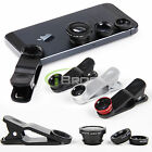 3 in 1 Camera Fish eye Macro Wide Angle Selfie Lens Clip Kits For Smartphone New