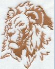 LION Towel - Embroidered Hand & Bath Towels- Silhouette~ Choose your colors