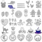 Metal DIY Cutting Dies Scrapbooking Stencils Paper Card Craft Embossing Album