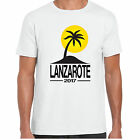 Lanzarote 2017 Holiday - MensT shirt - tour stag clubbing Palm
