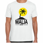 Malia 2017 Holiday - MensT shirt - tour stag clubbing Palm