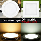 Round/Square Recessed Ceiling Lamp LED Panel Down Lights For Home/Commercial #YG