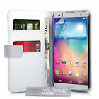 Yousave Accessories PU Leather Flip Wallet Folio Phone Case Cover For LG G Pro 2