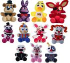 "NEW OFFICIAL 10"" FIVE NIGHTS AT FREDDYS PLUSH SOFT TOYS FREDDY'S FOX BEAR RABBIT"