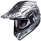 Scorpion EXO VX-34 Off-Road MX Helmet Black Scream Graphic Adult Sizes