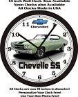 1970 CHEVROLET CHEVELLE SS 454 WALL CLOCK-FREE USA SHIP