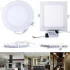 3-24W Panel LED Ceiling Light Wall Lamp Bathroom Living Lighting Energy Saving #