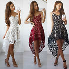 New Fashion Women Casual Lace Sleeveless Evening Party Cocktail Short Mini Dress