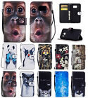 Hand Rope Fashion Leather Flip Phone Cover Case Card for Samsung Galaxy S7
