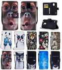 NEW Hand Rope Fashion Leather Flip Cover Case Card for Samsung Galaxy S5 i9600
