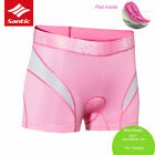 Santic Cycling Bike Underwear Women Breathable 3D Paded Shorts Comfortable Short