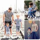 Couple T-Shirt Father Mother Son Daughter Matching Shirts Family Outfit Clothes