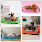 Household Pet Dog Cat Bed Cushion Soft Warm Kennel Mat Pad Blanket Washable New