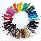 Multi Color Cotton Waxed Round Cord Dress Shoe Laces 4 lengths (70/80/100/120cm)