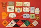 VINTAGE CARAVAN CLUB BADGES -   ALL LISTED  WITH PHOTO'S - LOT 12