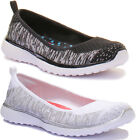 Skechers Made You Look Fabric Comfort Slip On Shoes Size UK 3 - 8