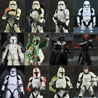 "Star Wars 6"" Black Series Action Figure Gift Darth Vader Boba Fett Stormtrooper $20.12 CAD"