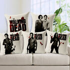 Home Deco Cool The Walking Dead Print Sofa Cotton Linen Cushion cover Pillowcase
