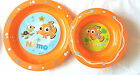 Disney Baby Mickey Minnie Mouse Nemo 2 Piece Mealtime Plate and Bowl 6 Mths+ New