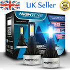 Nighteye 72W 9000LM LED Headlight Kit Light Bulb H1/H3/H4/H7/H8/H9/H11/9005/9006