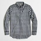 NWT J. Crew Women's Gingham Plaid Classic Shirt Button Down Blouse Boy Fit