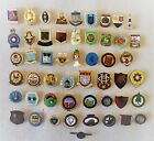 VINTAGE BOWLING / BOWLS CLUB BADGES - ALL NAMED A to W AND LISTED WITH PHOTO'S