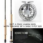 Buy a Sage X Fly Rod and Get a FREE Lamson Litepeed 3.0 Reel for 6, 7 or 8 Weight