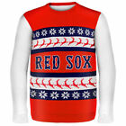 Boston Red Sox Forever Collectibles Wordmark Ugly  Sweaters