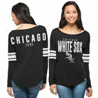 Chicago White Sox '47 Ladies Dugout   T-Shirt - Black