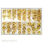 Assorted Brass Screw Cup Washers