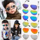Children Kids Boys Girls Aviator Metal Frame Pilot Sunglasses Outdoor Glasses