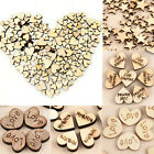 Kyпить 100pcs Rustic Wooden Love Heart Wedding Table Scatter Decoration Wood Crafts на еВаy.соm