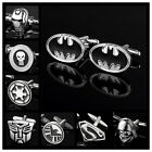 Men's Comics Cufflinks Superhero Justice League The Avengers Party Wedding Gift $4.99 USD on eBay