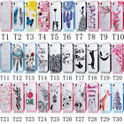 1Pc For iPhone Ultra Fashion Painting Rubber TPU Plastic Frame Fitted Case Cover