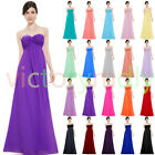 Chic Long Bridesmaid Dresses Prom Dresses Evening Cocktail Formal Party Dress