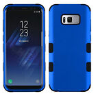 For Samsung Galaxy S8 Plus S8 TUFF Rubber Rugged Hybrid Hard Phone Case Cover