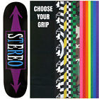 STEREO Skateboard Deck ARROWS BLACK/PURPLE 7.75 with GRIPTAPE image