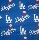 Baseball Los Angeles Dodgers Dog Bandana over the collar  XS - XL