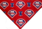 Philadelphia Phillies Dog Bandana MLB Dog over the collar / New design