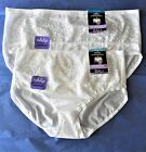 Womens Size S/5 or 2X/9 White Hipster One Smooth U Brief Panties NWT $12 Bali