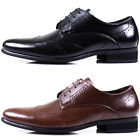 New Mooda Leather Men Formal Wing Tip Dress Casual Fashion Modern Shoes