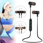 Magnetic Bluetooth 4.1 Sport Stereo Headsets Headphone Wireless Earbuds Earphone