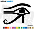 "Eye of Horus Ra Decal 6""x4.5"" Egyptian Protection Power Health Vinyl Sticker CRD"