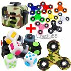 Fidget Cube+Hand Spinner Anxiety Stress Relief Autism Focus Desk Toy Kids Adults