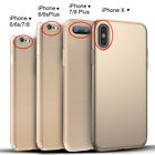For iPhone 6 6S 7 X Plus Case Mosafe® Ultra Thin Hybrid Colored Slim Hard Cover
