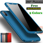 For iPhone X 6S 7 8 iPhone8 Plus Case Ultra Thin Hybrid Colored Slim Hard Cover  iphone x cases 360 3719264344224040 19